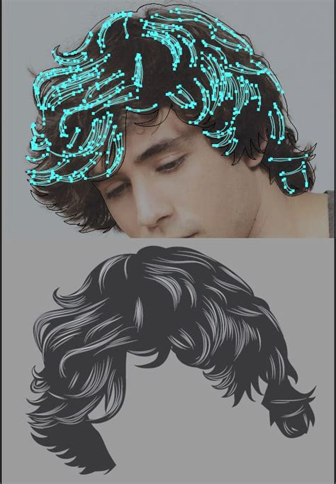 hair pattern adobe illustrator how to render to render and adobe illustrator on pinterest