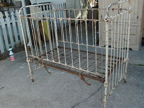 antique iron baby cribs images studio needs