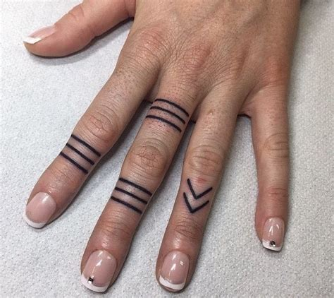 tattooed ring fingers designs 25 best ideas about ring finger tattoos on