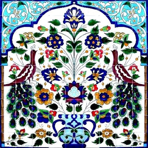 Painted Decorative Ceramic Picture Tiles by Decorative Ceramic Tiles Large Mosaic Panel Painted
