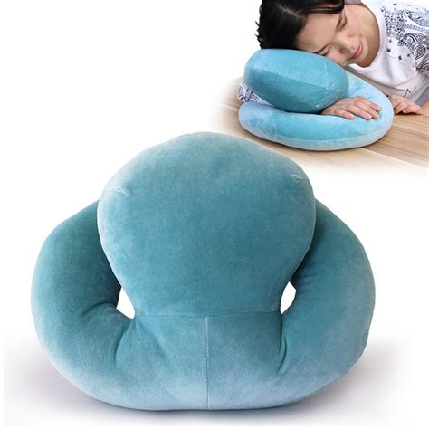 Sandaran Kepala Bantal 3 In 1 2 In 1 Inter Milan octopus rest pillow therapy pillows home office school siesta pillow pillows creative
