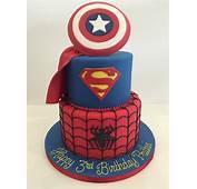 Superhero Birthday Cakes  By Robin