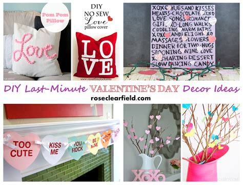 Last Day For Decorations by Last Minute Diy S Day Decor Ideas Clearfield