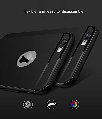 Casing 360 Degree Tpu Slim Silicone For Iphone 7 7s Plus D casecart tpu 360 degree ultra thin and slim coated non slip matte surface with