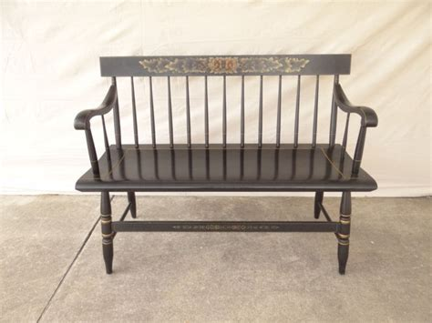 hitchcock bench deacons bench for sale antiques and collectibles store