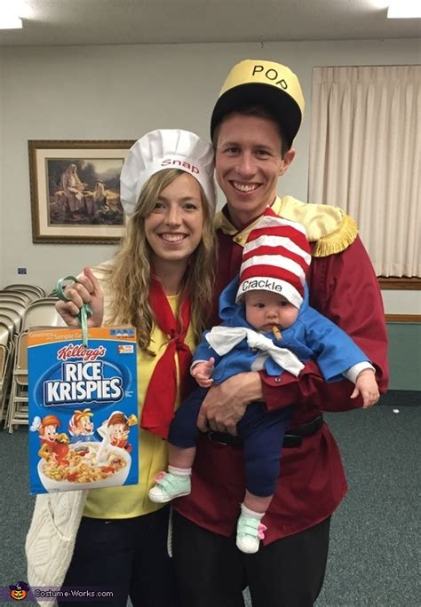 snap crackle pop family halloween costume