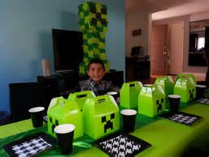 minecraft table decorations minecraft table set up themes for rental