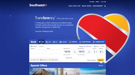 southwest policy southwest airlines boasts of simple fee structure in transfarency caign