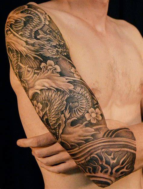 dragon tattoo arm sleeve best 25 dragon sleeve ideas on pinterest dragon sleeve