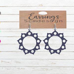 earrings svg file