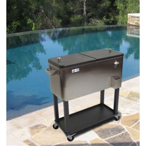 Steel Beverage Cooler With Shelf trinityii stainless steel beverage cooler with shelf review giveaway us 6 20 emily reviews