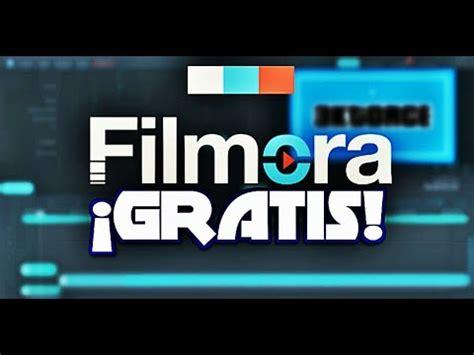 tutorial filmora en español tutorial para descargar editor de video wondershare