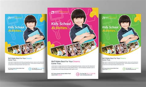 kids education flyer template flyer templates on