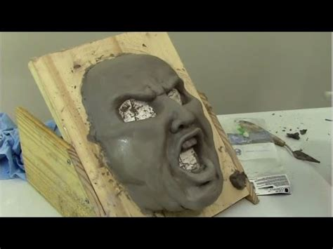 Paper Mask Techniques - paper mache mask and wed clay tips