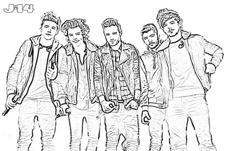 one direction coloring pages pdf 10 printable one direction coloring pages 6 j 14