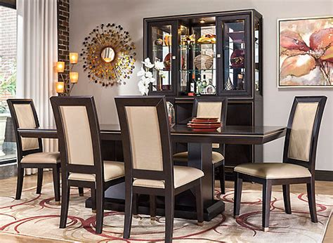 3 pc 5 7 dining sets glass formal modern regarding raymour