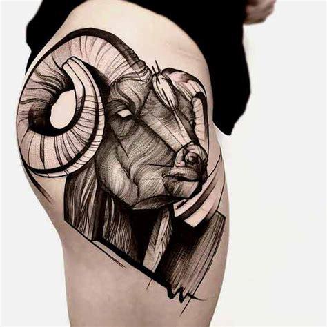 die 50 besten widder tattoos designs und ideen mit