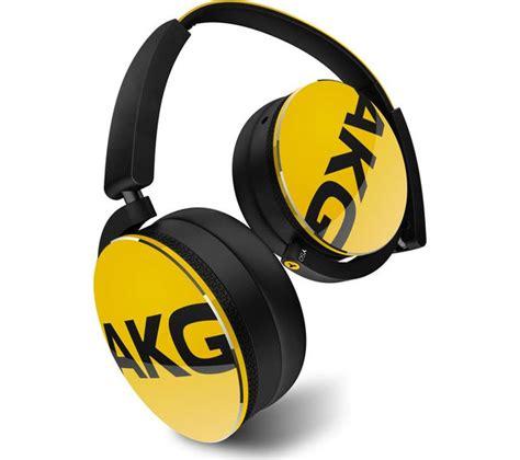 Headset Akg Y50 buy akg y50 headphones yellow free delivery currys