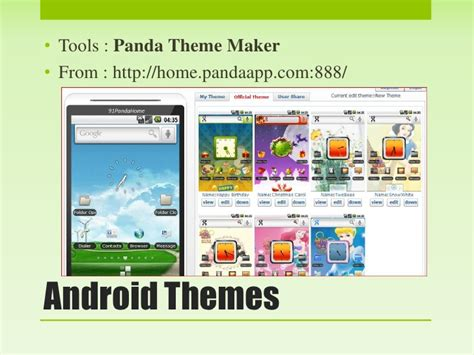 themes creator for android make android apps without programming skill
