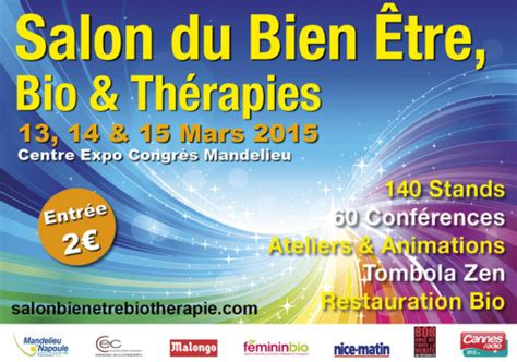 salon du 234 tre bio et th 233 rapies 224 mandelieu