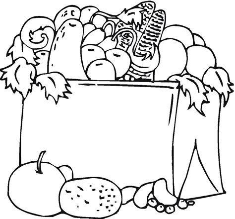 coloring pages of food and drinks free food and drink coloring pages