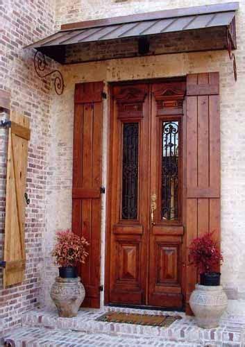 orleans louisiana style  iron front door  pinterest