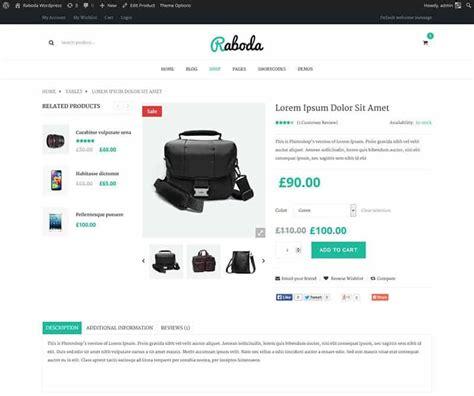 themes wordpress responsive ecommerce 16 best high conversion ecommerce wordpress themes for retail
