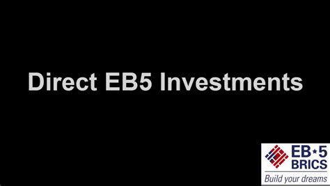 the eb 5 handbook a guide for investors and developers books eb 5 direct investment