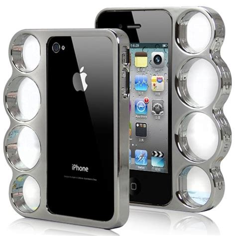 Casing Iphone 5 5s Five Finger Punch Custom brass knuckle iphone shut up and take my money