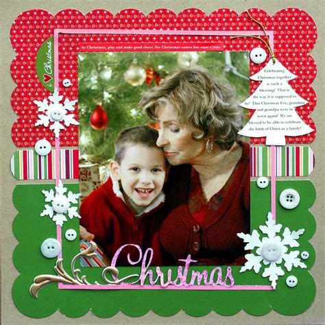 scrapbook layout ideas for christmas christmas scrapbook com scrapbooking sting pinterest