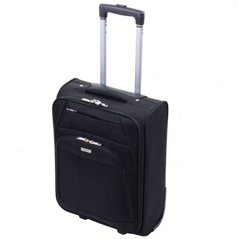 executive lightweight cabin suitcase luggage trolley
