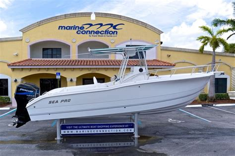 sea pro boats florida used 2002 sea pro 255 center console boat for sale in west