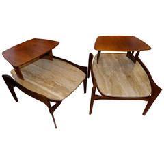Bertha 23 X 21 bertha schaefer tables 20 for sale at 1stdibs