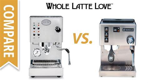 make an americano on rancilio silvia espresso machine from compare rancilio silvia m vs ecm casa v espresso machines
