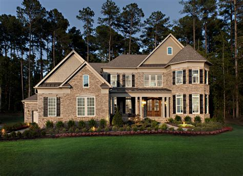 home design gallery nc toll brothers at falls at weddington the hollister home