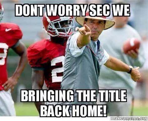 College Football Memes - sec s best college football memes