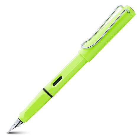 lime green range lamy safari range neon lime green 2015 special edition
