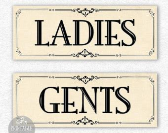 ladies and gents bathroom signs 8 best images of vintage bathroom signs printable vintage bathroom signs funny
