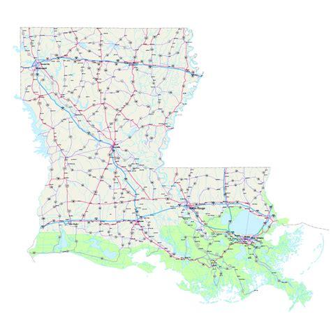 louisiana map louisiana maps