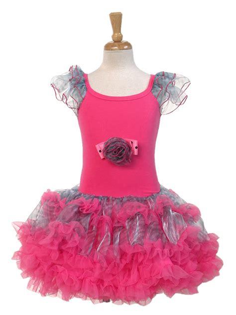 Ep Rahayu Tutu Dress zebra pink petti dress