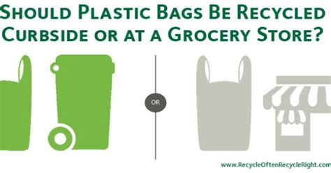 Plastic Bags What The Fuss Should Really Be About plastic bags should not be recycled curbside the bags can