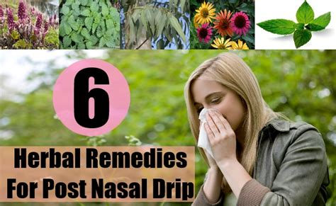 home remedies for post nasal drip from allergies how to