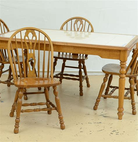 Cochrane Table And Chairs by Cochrane Dining Table And Six Chairs Ebth
