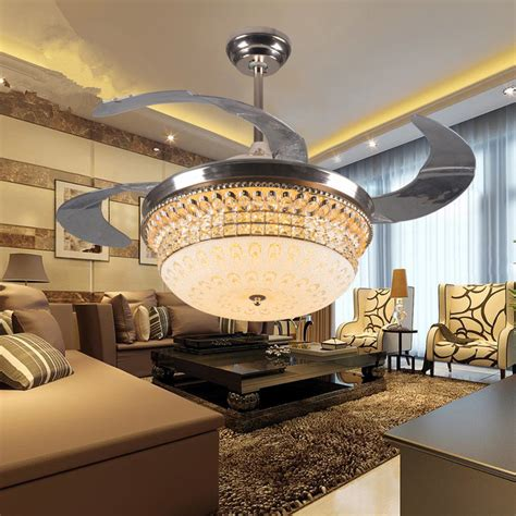dining room ceiling fans with lights decorative 42inch acrylic blades ceiling fan light for
