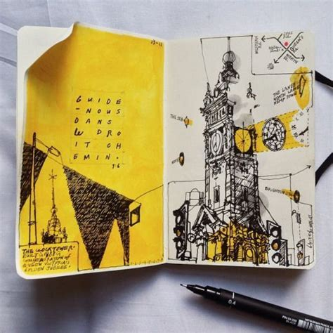 yellow sketchbook 1000 ideas about sketchbook project on
