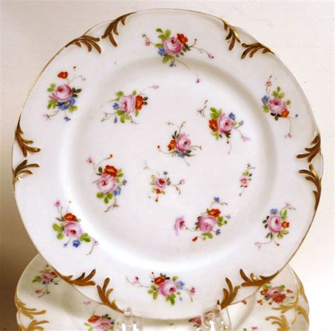 Porcelain Plate twelve continental arabia porcelain plates 20th c n9enbe