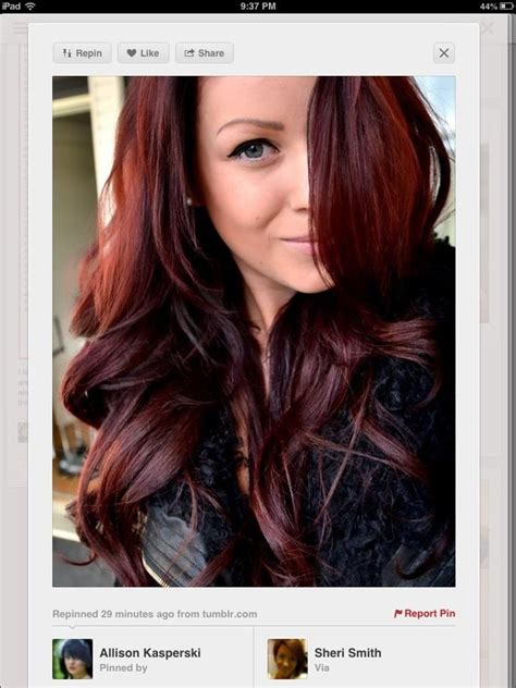 what looks good with red red ombre what my hair color looks like sassy pants