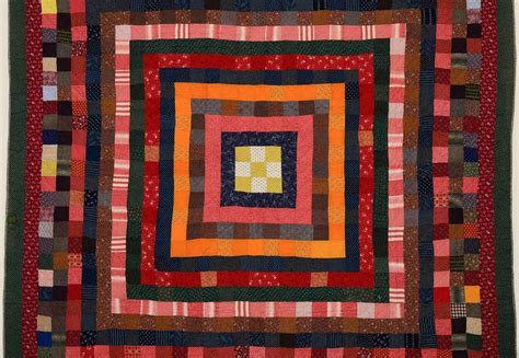 Quilt Squares For Sale by Concentric Squares Quilt For Sale At 1stdibs
