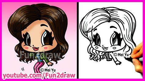 fun2draw how to draw cartoon people how to draw cartoons zendaya coleman fun2draw people