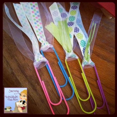 How To Make A Paper Clip Bookmark - monday made it jumbo paper clip bookmarks journey of a